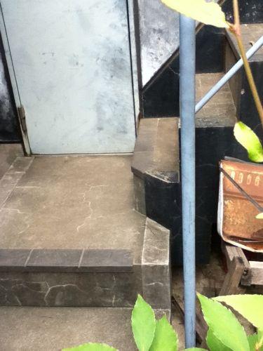 DJ LOVEさんが降りてきた階段.jpg